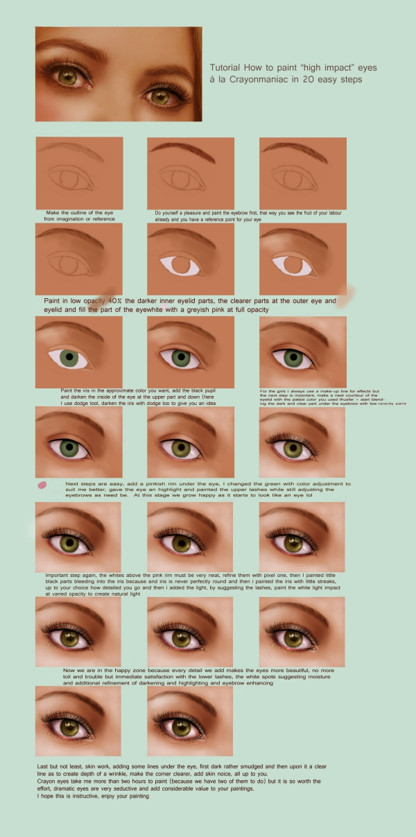 How-to-paint-an-eye-Amazing-Tutorials
