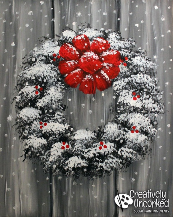 40 Beautiful Christmas Painting Ideas To Try This Season