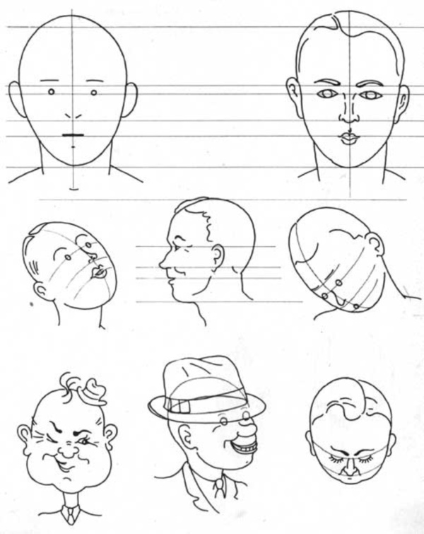 Line Drawing Of Cartoon Face : How to draw cartoon eyes and face