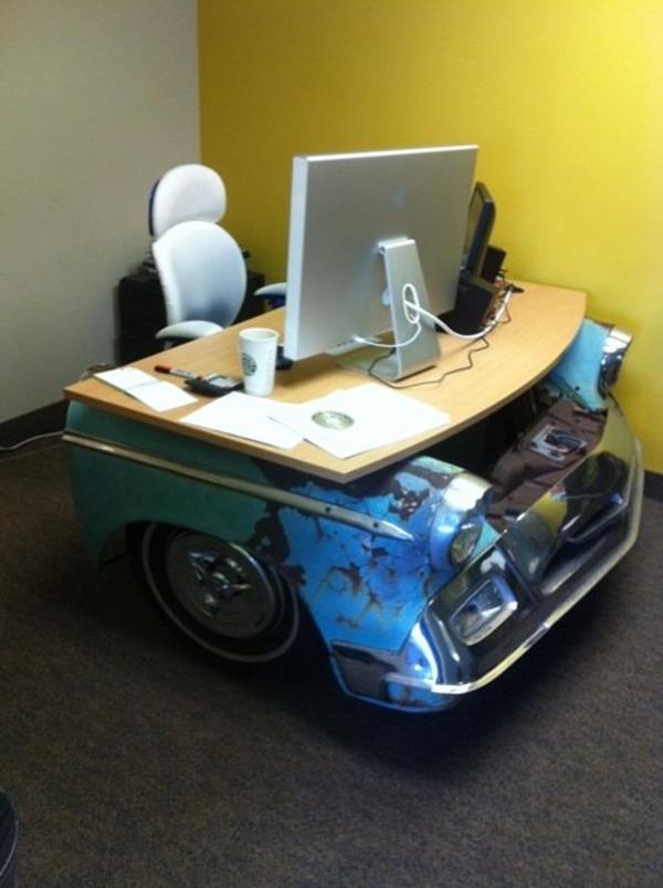 40 Insanely Creative Car Part Furniture Ideas Bored Art