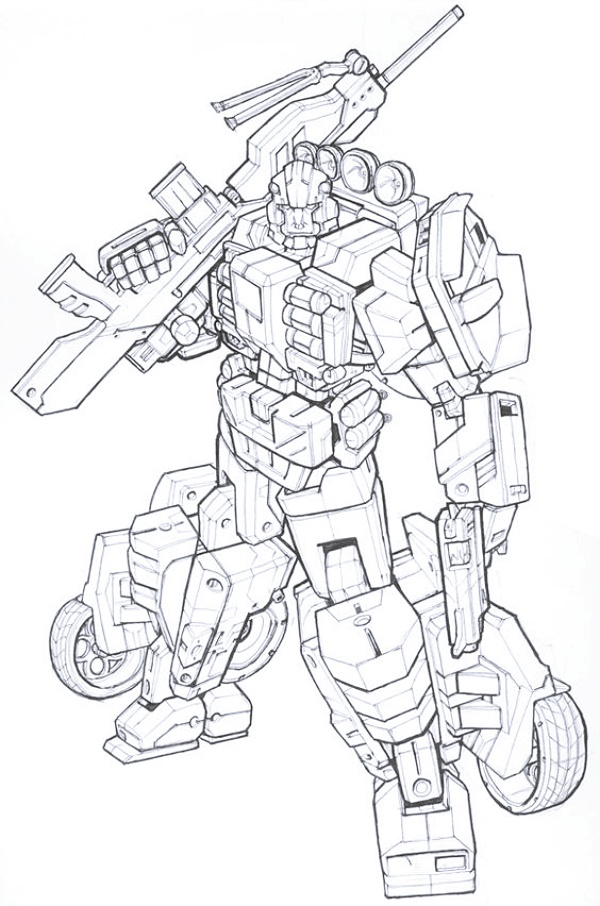 Transformers Drawings For Kids