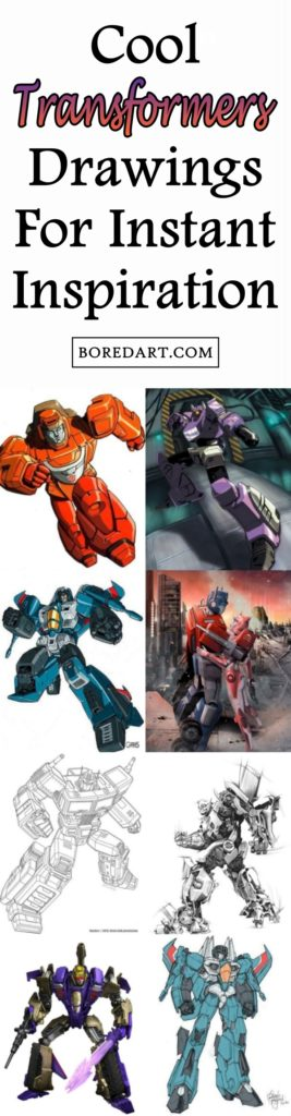 Cool Transformers Drawings For Instant Inspiration