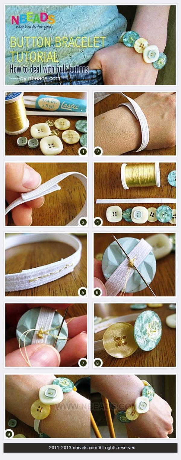 Extraordinary DIY Button Craft Ideas