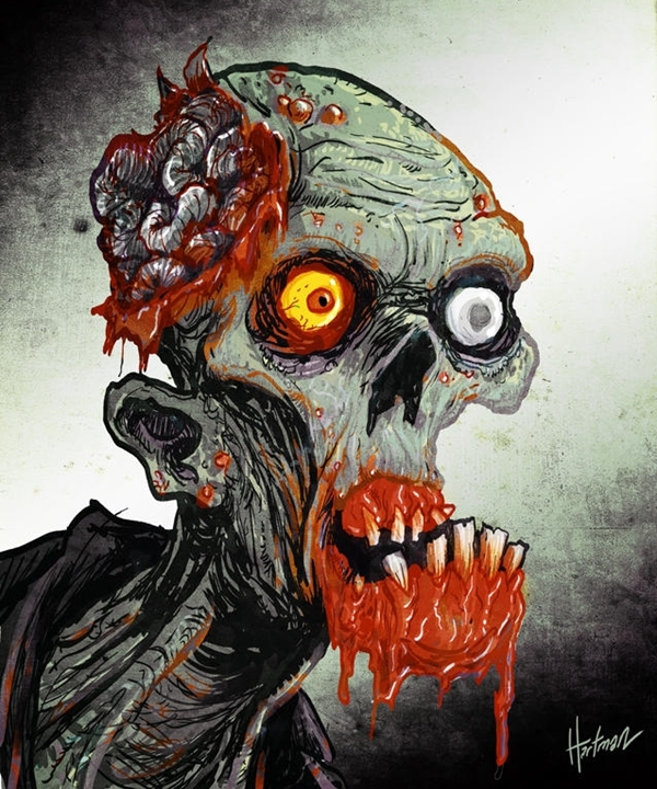Insanely-Cool-Zombie-Drawings-and-Sketches