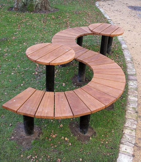 40 Unboring Park Bench Designs Which Are Extraordinary