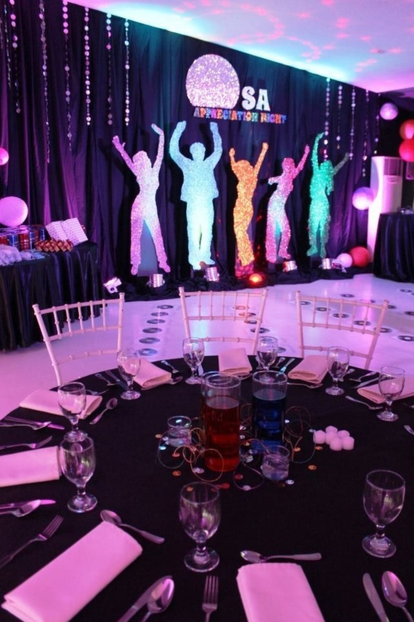 38 Examples Of Disco Theme Party Decorations Bored Art