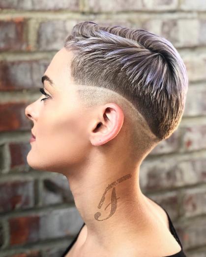 10 Winning Fade Haircut Looks For Women Bored Art