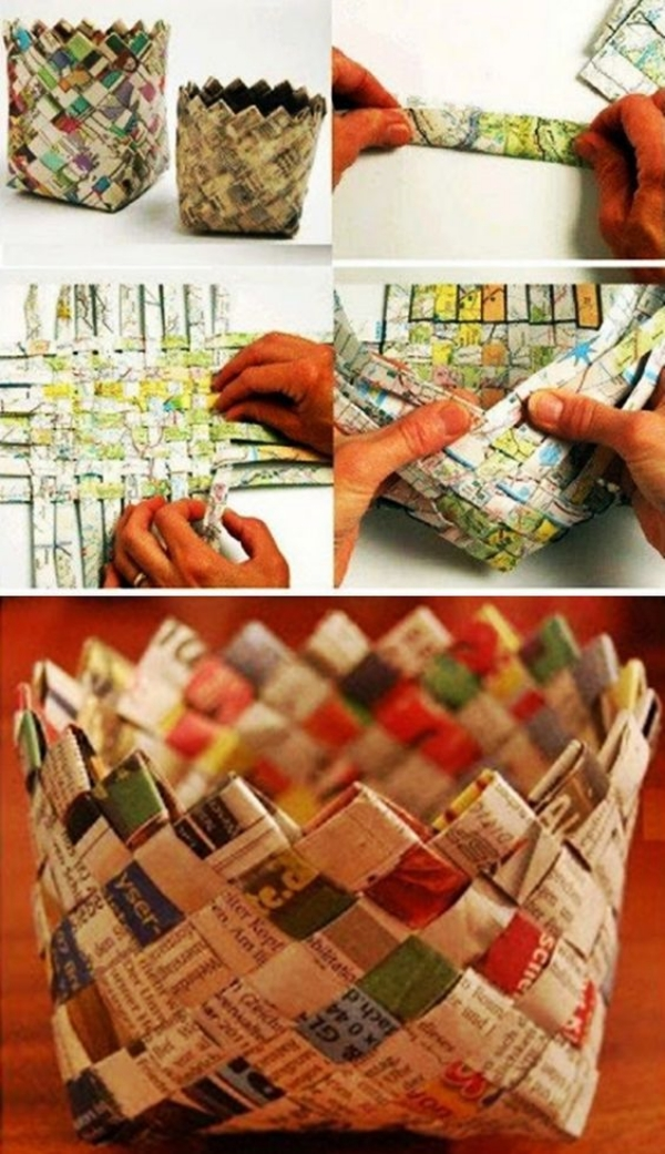 Paper-Craft-Ideas-For-Office-desk