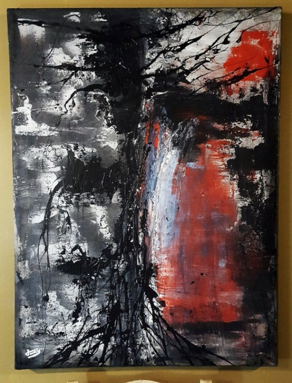 Amazing Textured Painting on Canvas