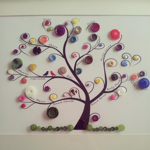 12. Button Tree