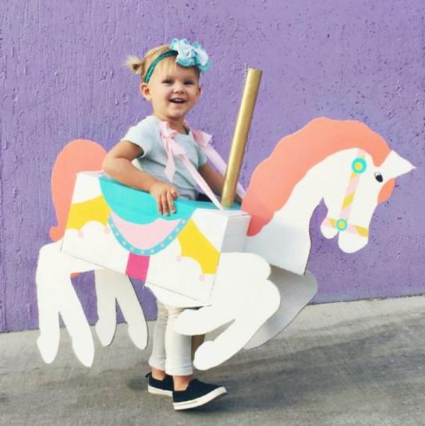 14. Carousel Horse Costume DIY