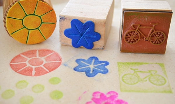 18. Watercolor Stamps