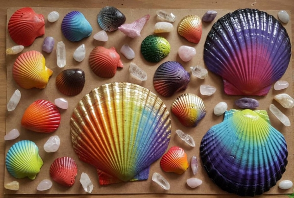 6. Painted Shells